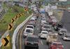 cierre en la autopista México-toluca