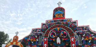 el altar de muertos más grande del mundo