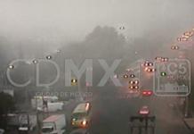 Banco de niebla en la CDMX