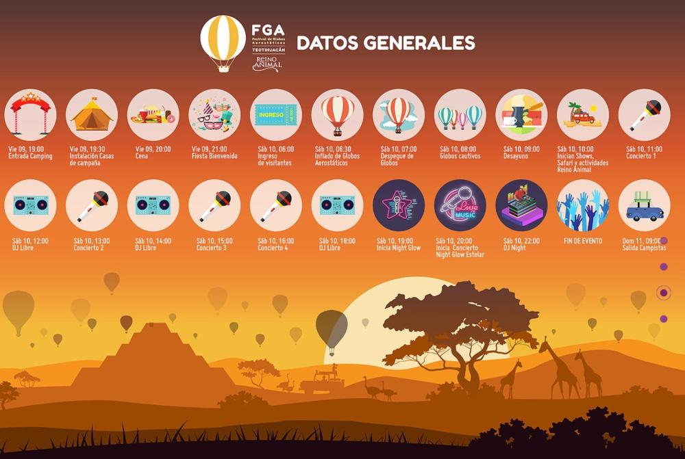 Festival de Globos Aerostáticos de Teotihuacán