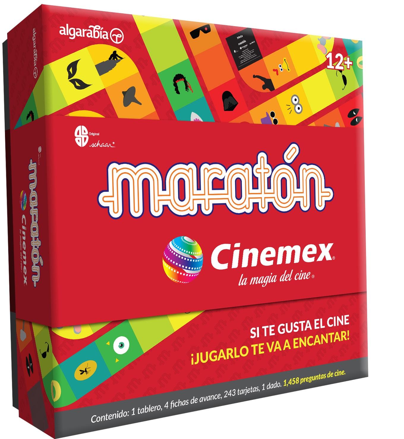 Maraton Cinemex Atrapa La Magia Del Cine En Un Juego