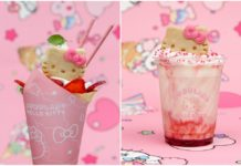 FRAPP脡 Y HELADO DE HELLO KITTY
