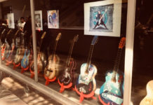 guitarras de Alex Lora