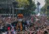 cierres por el mega desfile