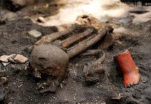 Restos arqueológicos en Coyoacán