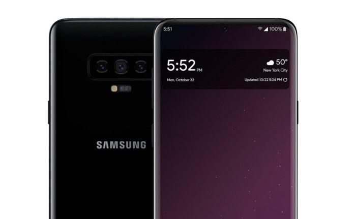 ¡Filtran el posible diseño del Samsung Galaxy S10!