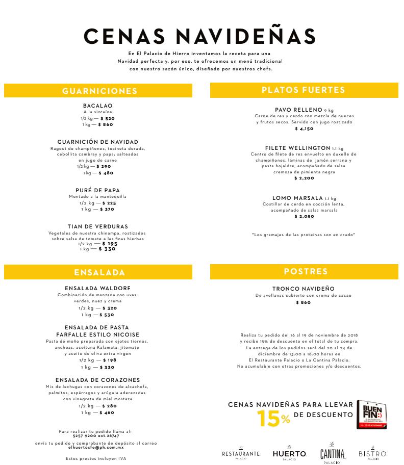 Chilango tradici n sabor y variedad nueve cenas - Menu de cenas navidenas ...
