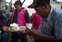 Caravana migrante en la CDMX