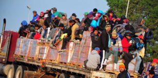 segunda caravana de migrantes