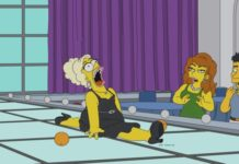 Simpson en drag