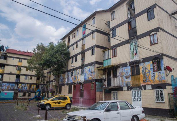 Daniel Manrique y sus murales en Tepito
