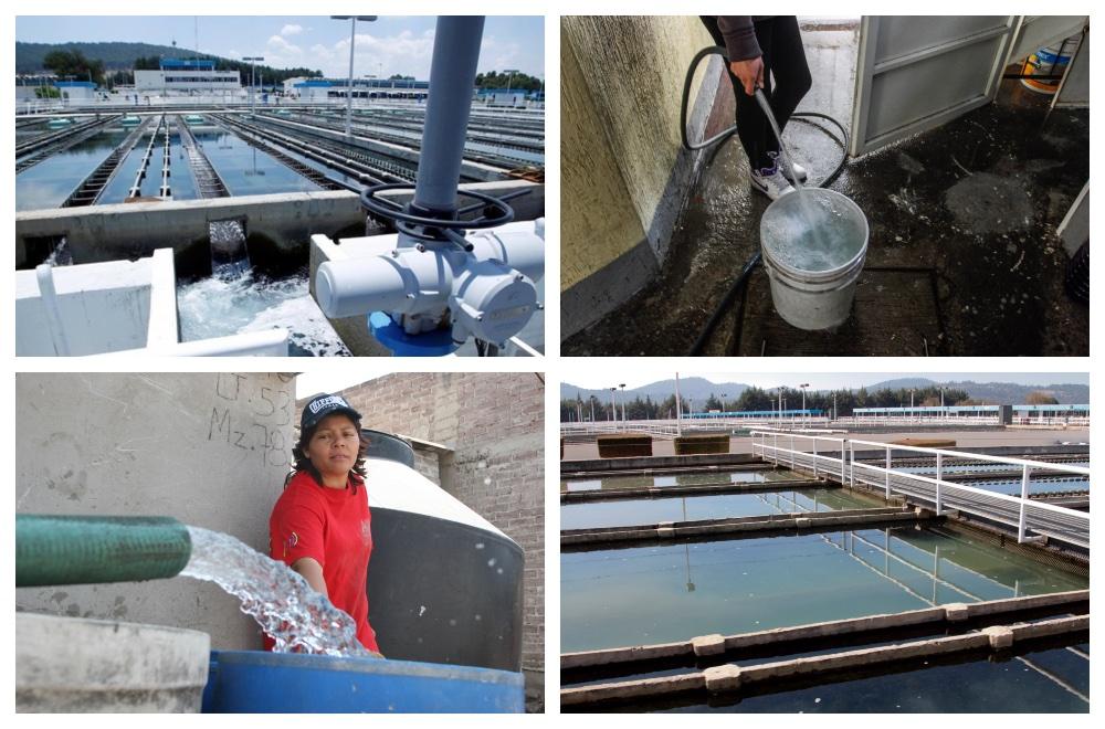 de dónde viene el agua potable