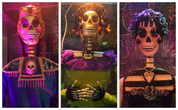 Día de Muertos en Banjercito collage