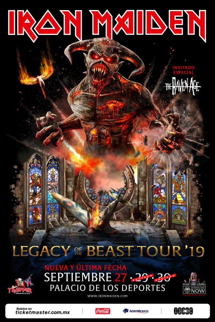 Iron Maiden en CDMX