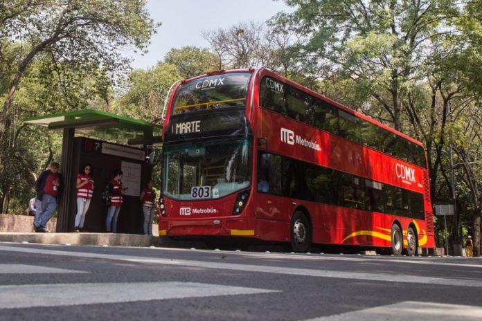 quiebra del Metrobús