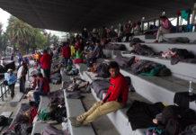 migrantes en la cdmx