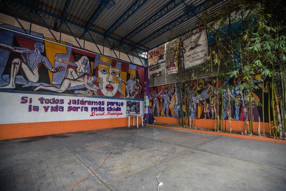 murales de Daniel Manrique