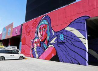 #Fotos: Estrenan murales en la Central de Abastos