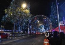 Villa iluminada en CDMX 2018