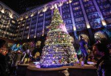 árbol de Navidad del Hotel Four Seasons
