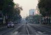calles vacías en CDMX
