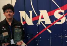 joven que fue a la NASA