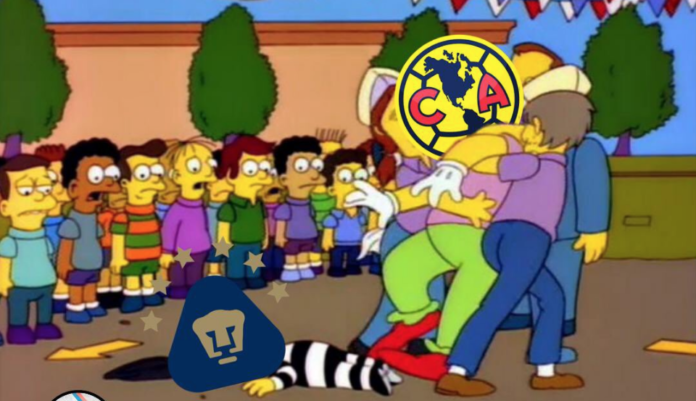 memes del pumas vs américa