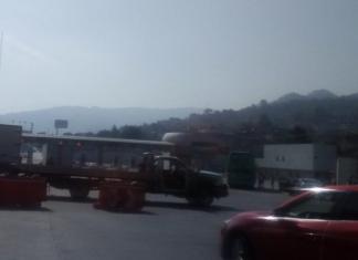 bloqueo en la México-Cuernavaca