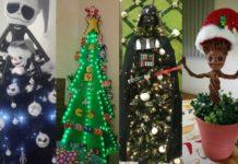 adornar el árbol de navidad