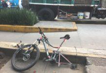 ciclista atropellado en san pedro de los pinos