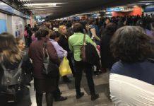 fallas en la línea 2 del metro