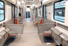 trenes nuevos en el Metro