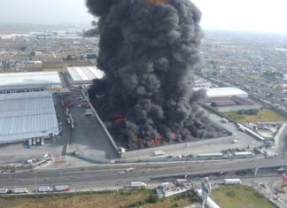 incendio en Toluca