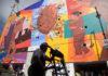 mural en la Merced