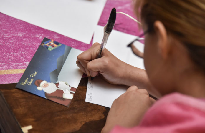 carta para Santa en Palacio Postal