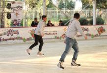 pistas de hielo en Iztapalapa