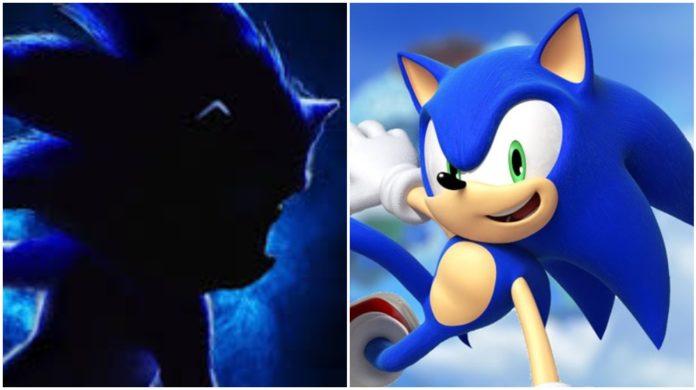 primer poster película de Sonic