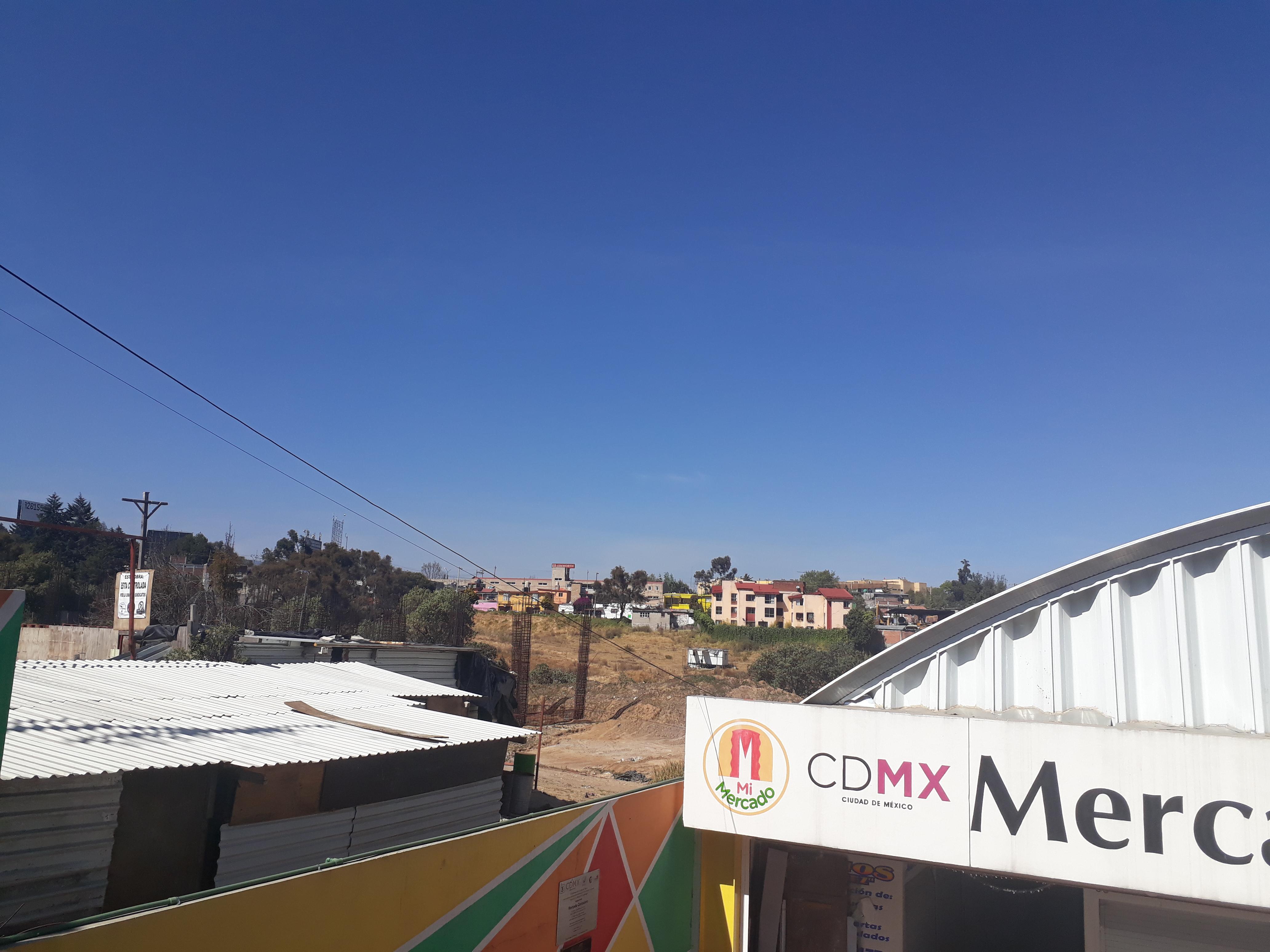 terreno del Hospital de Cuajimalpa