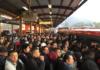 caos en el metro de la CDMX