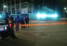 hundimiento de un edificio en Iztacalco