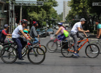 Carriles exclusivos para bicis en la CDMX