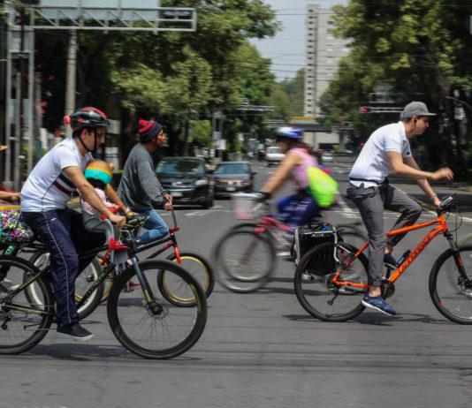 Carriles exclusivos para bicis en la CDMX