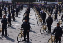 policias de Neza patrullaran en bicicletas