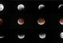 Fotos del eclipse de luna