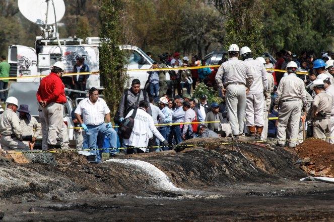 Explosión en Tlahuelilpan