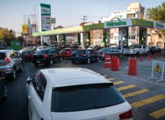 gasolina con Waze