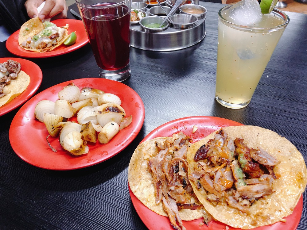 Tacos al pastor del Huequito