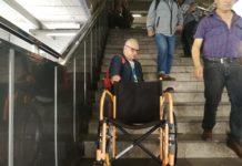 discapacidad en el transporte público