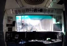 viaje en metro desde la cabina