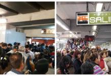 usuarios de la Línea 3 del Metro